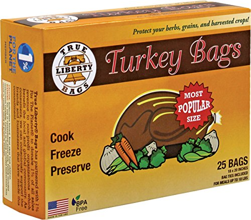Active Air True Liberty® Bags, Turkey Bags - 25 Count Box, Oven Bags, Kitchen Bags, All-Purpose Home and Garden Bags