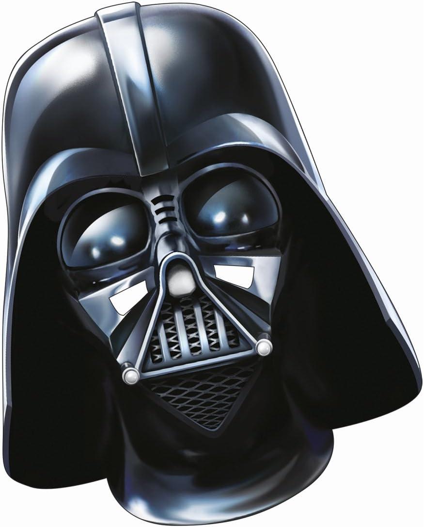Careta papel Star Wars Máscara Darth Vader Adulto El despertar de ...