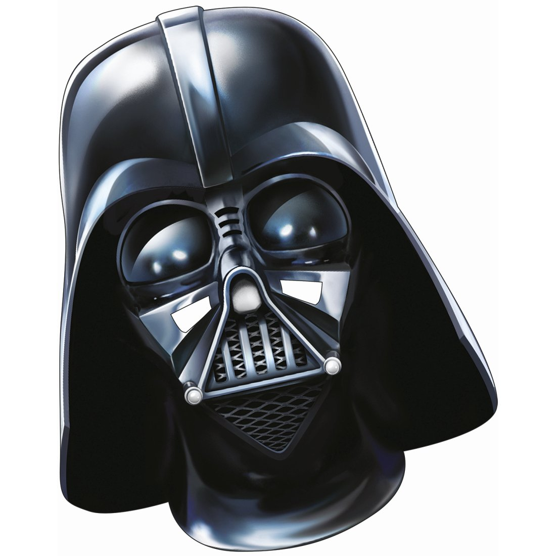 Careta papel Star Wars Máscara Darth Vader Adulto El ...