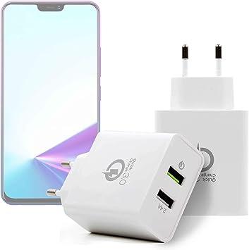 DURAGADGET Kit De Adaptadores con Cargador para Smartphone Vivo ...