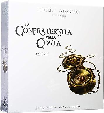 Asmodee Italia- T.I.M.E Stories La Confraternita de Costa, Juego de Mesa, Color, 8972: Amazon.es: Juguetes y juegos