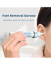 Kemei Ear Cleaner cerume Remover elettrico con LED sicuro e morbido orecchio Wax rimozione kit per adulti e bambini