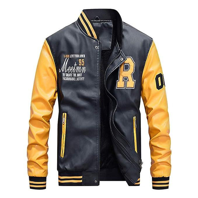 Zipper Cuero Añadir Velvet Jacket Top Cuello de caballero más chaqueta de cuero acolchada de terciopelo BaZhaHei Invierno Abrigo Casual Sudadera con Capucha ...