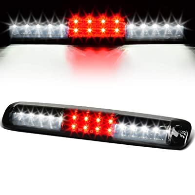LED 3rd Brake Light Compatible with Chevy Chevrolet Silverado GMC Sierra 1500 2500 3500 1999-2006 & 2007 HD with Classic Body Style High Mount Trailer Third Cargo Lamp Smoke DWBL1016: Automotive