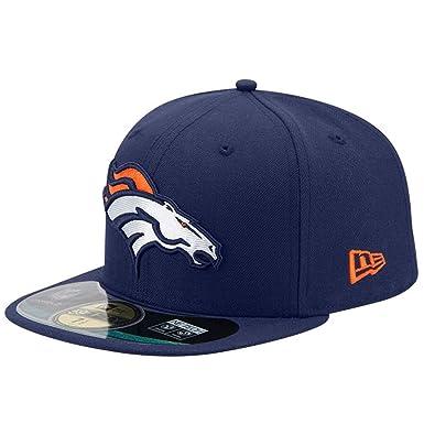774870dd New Era NFL On Field Denver Broncos Cap 59fifty Basic Fitted Basecap Herren  Mens