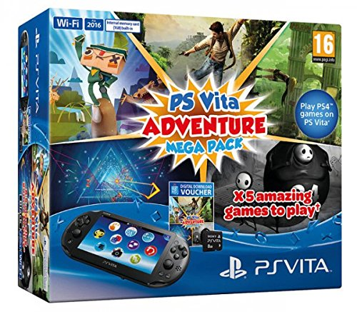 PlayStation Vita - Consola + Adventure MegaPack + Tarjeta ...
