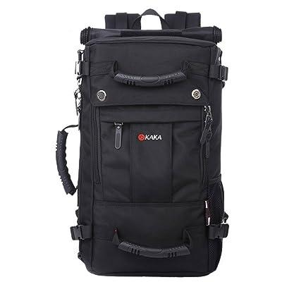 KAKA Daypack Backpack Bagpack Climing Hiking Camping Sports Bag 35L Black #2050