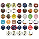 Single Serve Coffee Variety Selection Pack For Keurig K-Cup Brewers. 2.0 Compatible, 40 Count