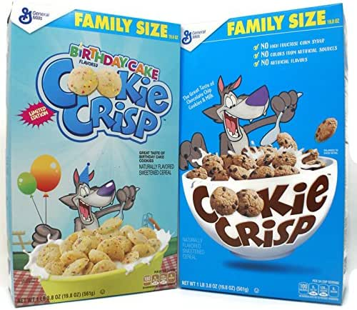 Breakfast Cereal: Cookie Crisp