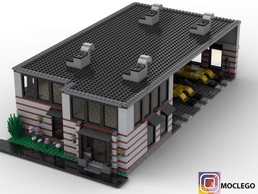 Garage Contractor (Instruction Only): MOC LEGO