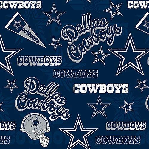 Dallas Cowboys NFL Football in Navy Blue 58