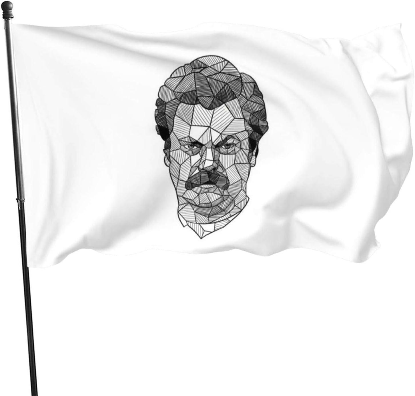 Banderas geométricas de Ron Swanson N/F, 9 x 1,5 m: Amazon.es ...