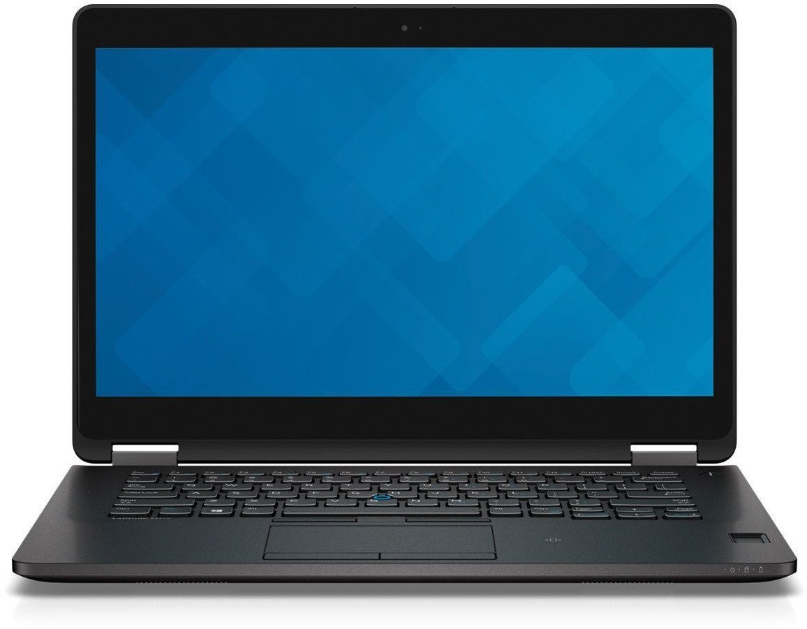 Dell Latitude E7470 14in Laptop, Core i5-6300U 2.4GHz, 8GB Ram, 256GB SSD, Windows 10 Pro 64bit (Renewed)