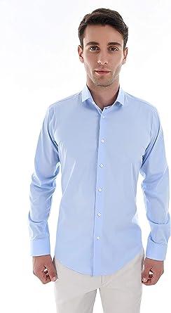 SAGE & LOOM Camisa Elástica para Hombre: Amazon.es: Ropa y accesorios
