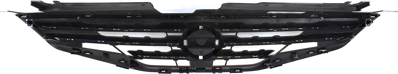 Grille for Nissan Altima 10-12 Chrome Shell w//Black Insert Sedan