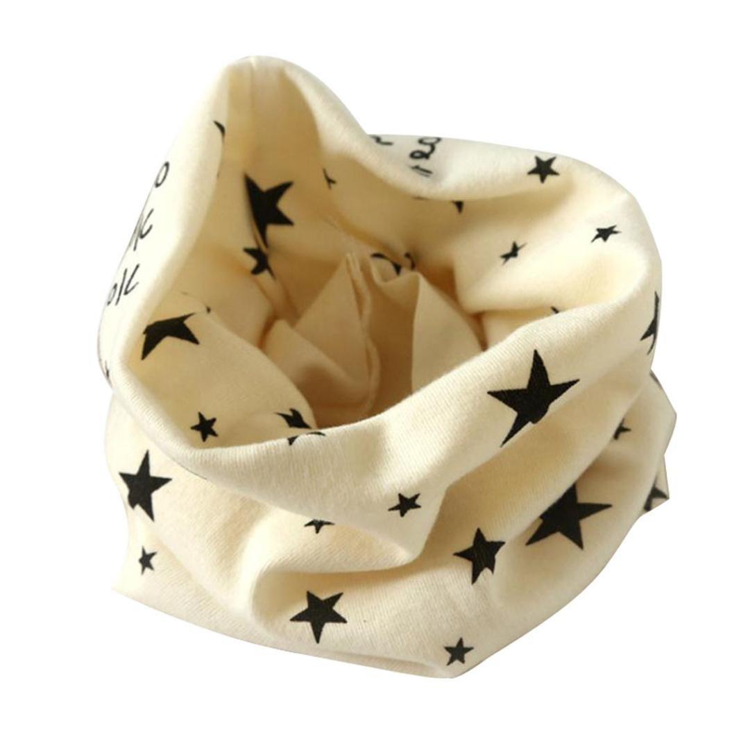BBsmile Autunno Inverno Bambini Ragazze Collare Sciarpa Bambino Cotone O Anello Collo Sciarpe RZA41S
