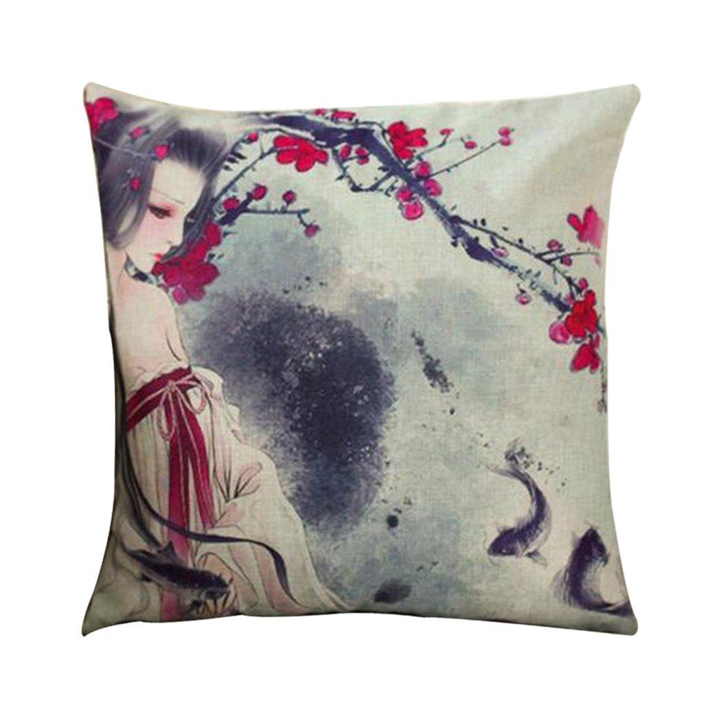 Amazon.com: ME COO Cartoon Cushion Cover Home Decoration ...