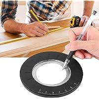 Cirkel Rita Maker Verktyg Mätlinjal Rund Cirkelmall Linjal Maker Verktyg Justerbar Mätning för Träbearbetning Ritning…