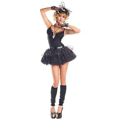 Amazon Gsg Madonna Costume Adult 80s Pop Star Material Girl