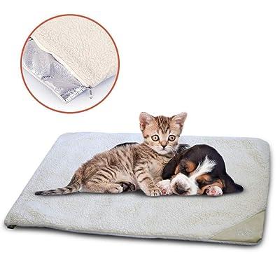 WarmShe Pet Bed Mat Self Heating Snooze Pad