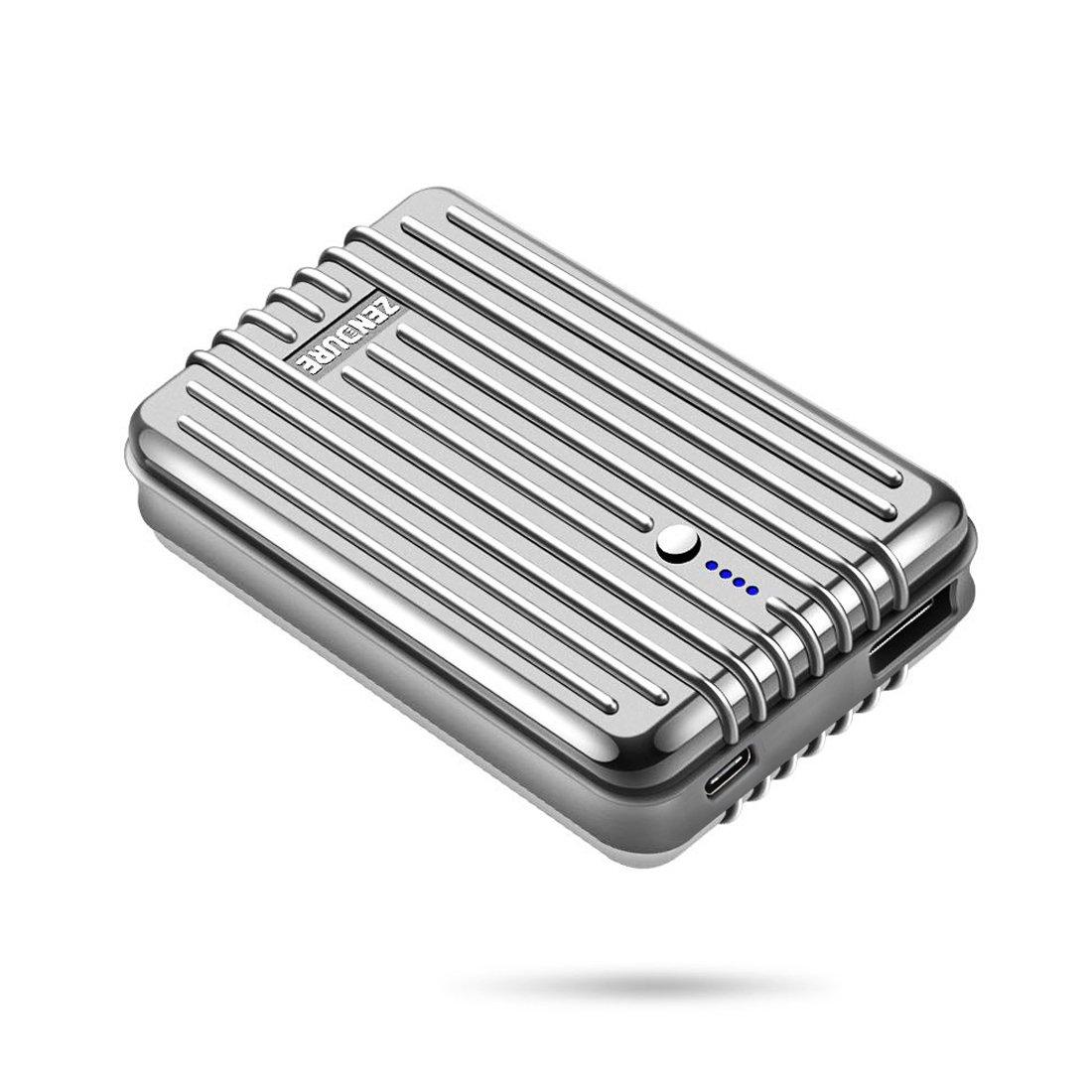 Zendure A3TC Batería Externa Cargador Portátil, 10000mAh 5V/3A USBC