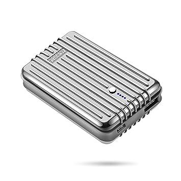 Zendure A3TC Tipo C Batería Externa Cargador Portátil, 10000mAh 5V/3A MAX - Plata