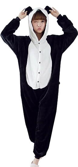 2612e6dc617ad Y-BOA 1Pc Pyjama Combinaison Coton Femme Taille L (Panda): Amazon.fr ...