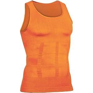 1a391721360c06 HÖTER Hoter Mens Slimming Body Shaper Vest Shirt Abs Abdomen Slim