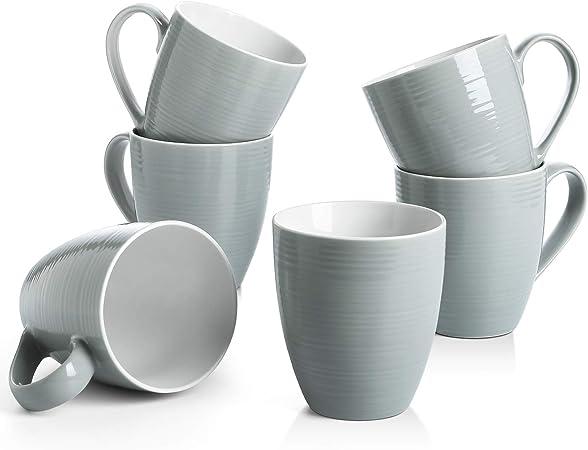 Sagaform SA5018086 Coffee /& More Tea Mug Grey Plastic