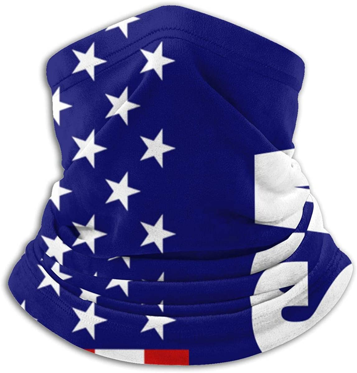 Anti Dust Face Mask Bandanas Mouth for Adults and Teens USA America Flag Vintage Half Face Mask