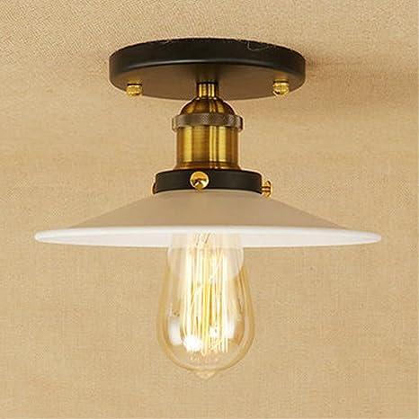 Retro Lámpara de techo Vendimia Industrial Diseño Plafón ...