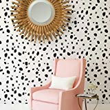 Dalmatian Spots Allover Stencil - DIY Home Decor - Reusable Stencils for Walls - Trendy Wall Stencils - By Cutting Edge Stencils