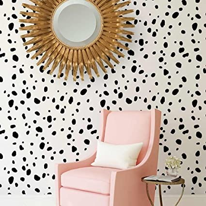 Dalmatian Spots Allover Stencil - DIY Home Decor - Reusable Stencils ...