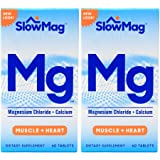 Slow-Mag Magnesium Chloride with Calcium, Tablets, 60 tablets (2 Pack)