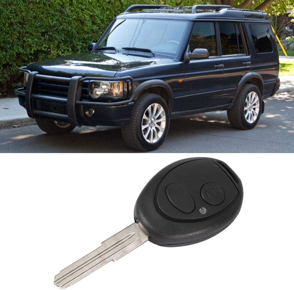 Tbest Car Accessories Remote Key,Car Remote Control Key 433Mhz 2 Buttons Fits for Land Rover Discovery 1999-2004
