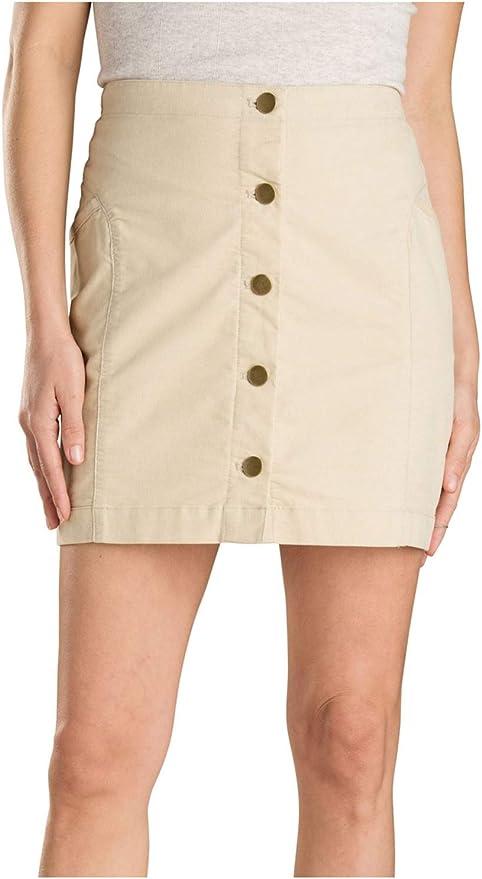 Toad&Co Mindy - Falda para Mujer, 12, marrón, (Brown Rice): Amazon ...