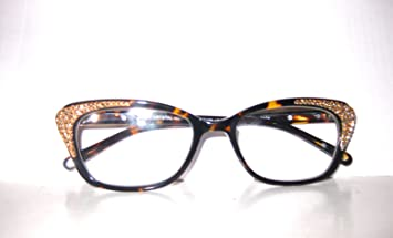 fab10541fd3 Image Unavailable. Image not available for. Color  Jimmy Crystal of Ny  Reading Glasses Large Frame with Sparkling ...