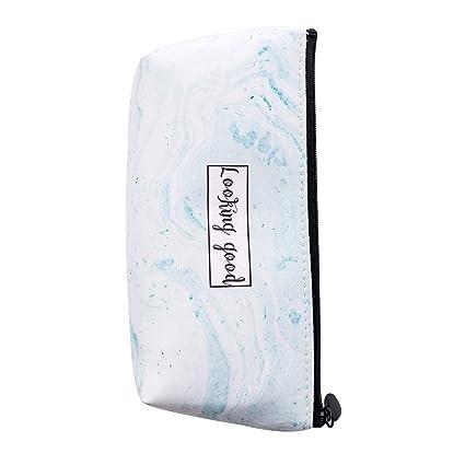Ukallaite - Estuche de papelería, diseño de letras de mármol ...