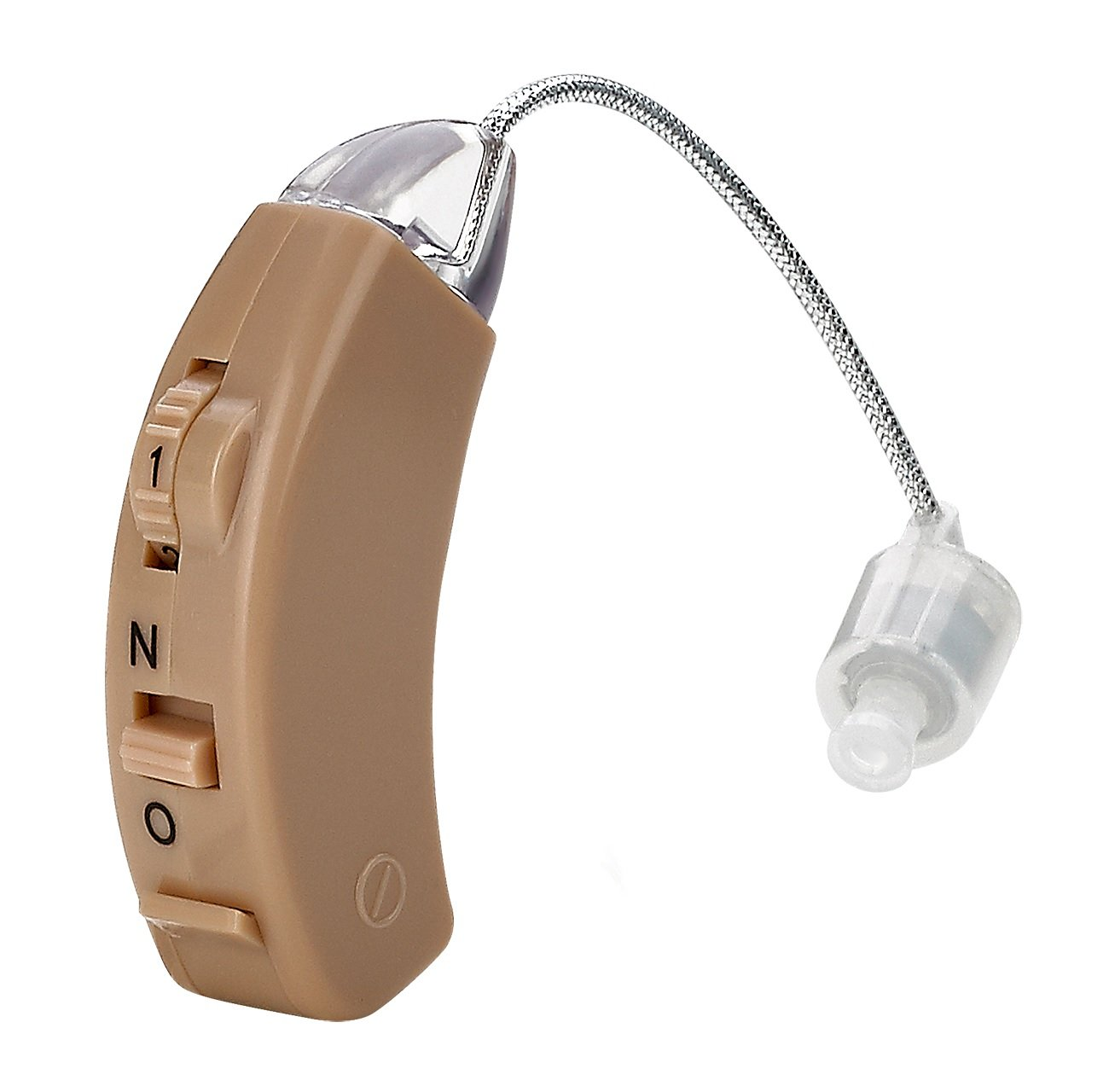 MEDca Hearing Amplifier, Personal Sound, Digital Feedback Cancellation and Noise Reduction,