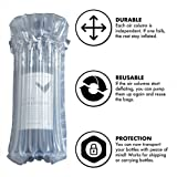 Bozoa Wine Bottle Protector/Inflatable air Column