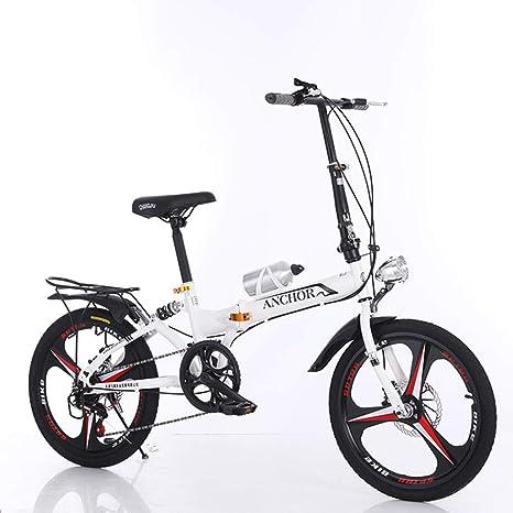 Grimk 20 Pulgadas Plegable De Aluminio Bicicleta De Paseo Mujer ...