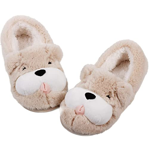 1a367ffe18c Cute Dog Animal Slippers
