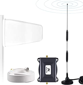 Verizon Cell Phone Signal Booster Amplifier for Home 4G LTE Verizon Cell Signal Booster Verizon Cell Phone Booster Verizon Mobile Signal Booster Repeater Boost Data+Voice 700MHz Band13 65dB