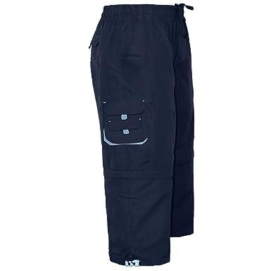 6f58139f55 Men's Cargo Combat 3/4 Shorts 100%Cotton Elasticated Fly Zip Classic Summer  Shorts M to 3XL: Amazon.co.uk: Clothing