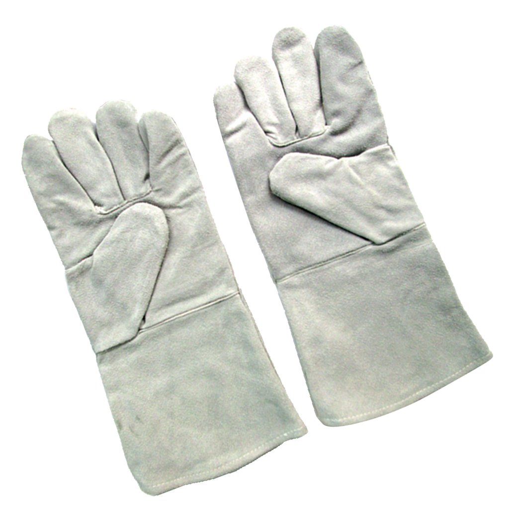Homyl Heat & Wear Resistant Leather Welding Gloves, Suitable for Man and Women by Homyl