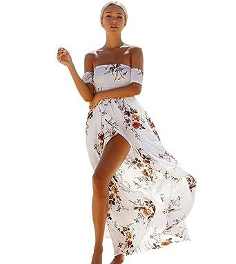 Robe longue plage fille