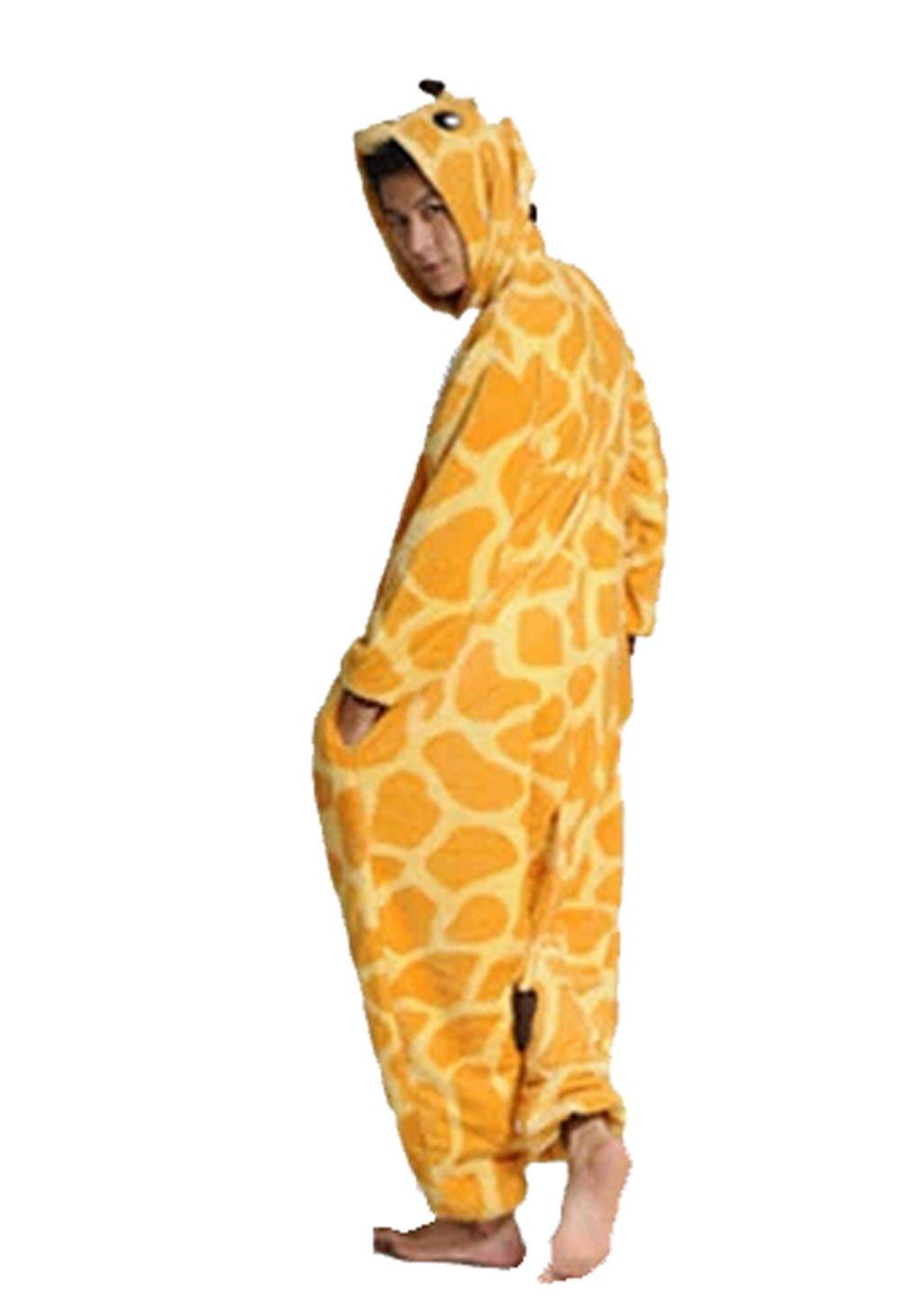 6601fe1cbf022 Pyjama grenouillère pour adulte Unisexe Girafe  Amazon.fr  Sports et Loisirs