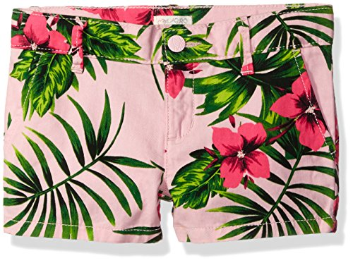 The Children's Place Big Girls' Printed Shorts, Pink Punch, 12 Plus