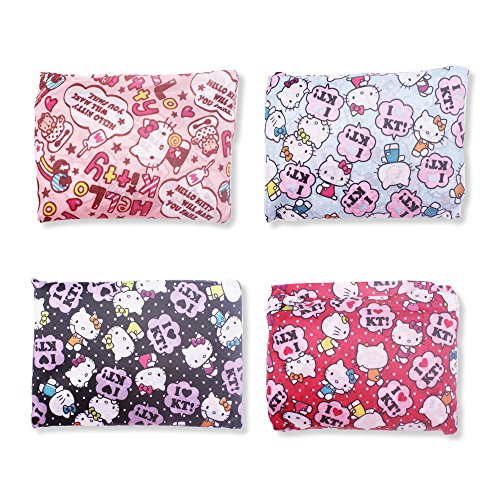 Finex - Set of 3 - Hello Kitty Foldable Reusable Tote Recycle Shopping Bag - lightweight portable large capacity