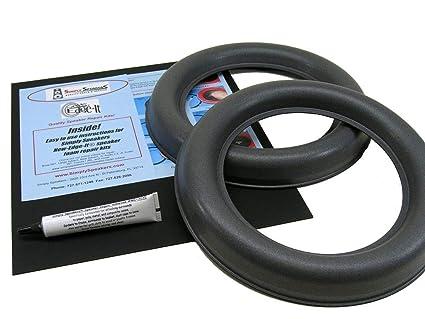 4 verstärkte schwarze Speichen 284 mm  2,2 x 1,8 x 2,0 mm